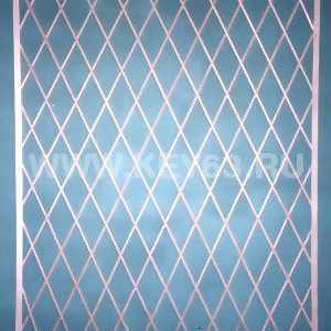 Стальные решетки Х изготовлены из металлического прутка диаметр 12 мм (возможно изготовление решетки из прутков диаметром 10 мм, 14 мм, 16 мм, 18 мм, или квадрата 10х10 мм, 12х12 мм, 14х14 мм, 16х16 мм. Стальные решетки Х устанавливаются в оконных проёмах административных и производственных зданий, офисных помещений, магазинов, жилых помещений. Установка осуществляется на арматуру 16 мм или высокопрочные анкерные болты. В случае установки в промежуточном сечении проёма, крепление осуществляется через специальные отверстия в каркасе (коробке), а при монтаже в одном уровне с оконным проёмом  через выносные пластины.
