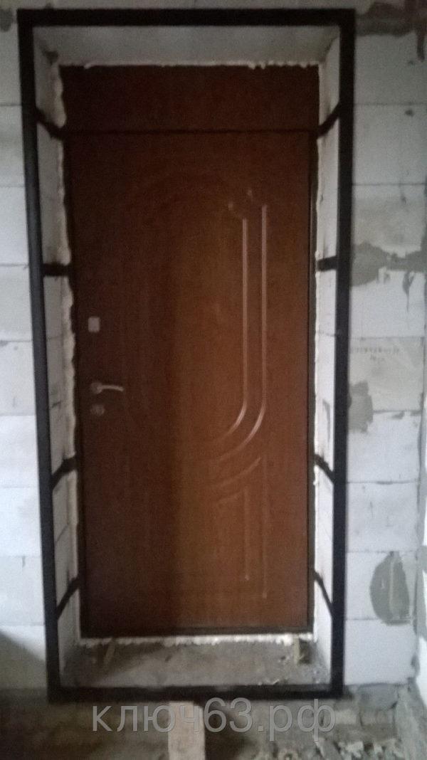 Обратная рама устанавливается для жесткой фиксации металлической двери в проемах из газобетона ,пеноблоков и других мягких материалов используемых в строительстве современных зданий.