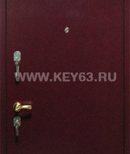 Стальная дверь порошковая (коричневая, антики: медь, серебро, бронза, изумруд), лист 2 мм (возможен лист толщиной 3 мм), изнутри пенопласт (возможен плотный базальт), отделка МДФ 6 мм (возможны другие варианты внутренней отделки), рама с обналичкой 80х20 из листа 3мм, дверные ребра изготовлены из стального уголка 40 мм, размер двери под ваш проем, устанавливаются петли диаметром 25 мм, замок ГАРДИАН-3211 (в комплекте ручка хром пупырчатый, броненакладка хром, 5 ключей) второй замок ЭЛЬБОР 1-06-01 5 ключей, глазок АПЕКС обзор 160 градусов, возможна покраска молотковой эмалью серая, коричневая, черная, одноконтурный уплотнитель, возможна врезка любых других замков по желанию заказчика, установка 2 уплотнителя, усиление рамы, усиление дверных ребер жесткости, усиленные петли 3 шт, противосъемные штыри, установка доводчика, магнитные замки.