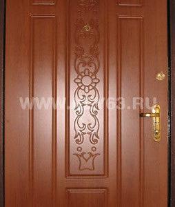 Стальная дверь молотковая, лист 2 мм (возможен лист толщиной 3 мм, 4 мм), изнутри пенопласт (возможен плотный базальт, минвата), внутренняя отделка накладка ПВХ 10 мм - 25 цветов, 13 видов фрезеровок (возможны другие варианты внутренней отделки), рама с обналичкой 80х20х3мм, дверные ребра изготовлены из стального уголка 40 мм, размер рамы двери 0,8м х 2,0м (возможны любые размеры), устанавливаются петли диаметром 25 мм (возможны петли диаметр 30 мм), замок ГАРДИАН-3211 (в комплекте ручка хром пупырчатый, броненакладка хром, 5 ключей) второй замок ЭЛЬБОР 1-06-01 5 ключей, глазок АПЕКС обзор 160 градусов, покраска молотковой эмалью коричневая (возможна серая, черная) одноконтурный уплотнитель, возможна врезка любых других замков по желанию заказчика, противосъемные штыри, установка 2 уплотнителя, усиление рамы, усиление дверных ребер жесткости, порошковая покраска, усиленные петли 3 шт, установка доводчика, магнитные замки.