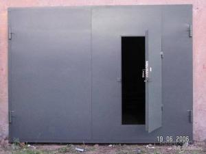 Изготавливаем и устанавливаем металлические гаражные ворота
